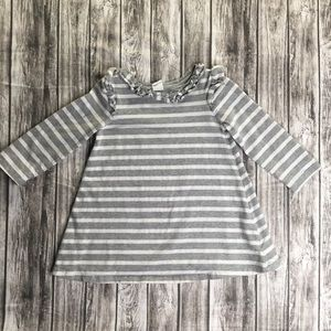 GAP Toddler Girls Striped Sweater Dress 2T EUC